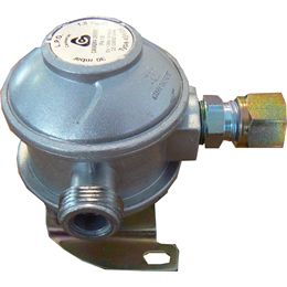 Bulkhead regulator angled 8mm