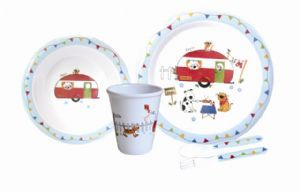 Charlie & friends dinner set - REDUCED
