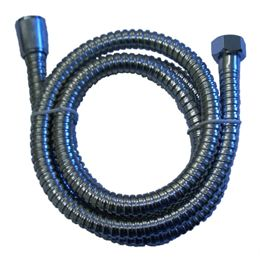 Chrome shower hose 1/2inch