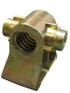 Corner steady jack screw block 20mm