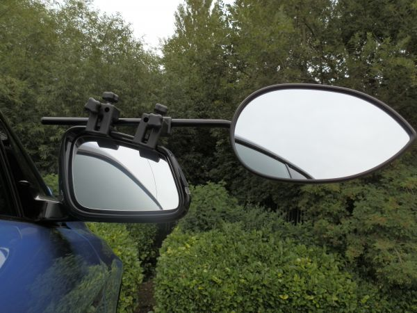 Milenco towing mirrors flat - pair with case