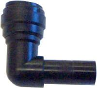 Push fit stem elbow 12mm