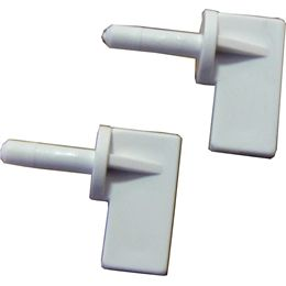 Water plug security clips